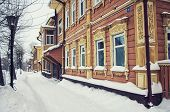 Wooden house in Tomsk