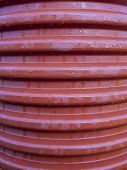 Corrugated Drainage Pipe Made ??of Plastic