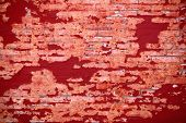 Background Of Grunge Red Brick Wall Texture