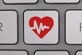 Heart Icon on Keyboard