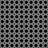 Seamless Black & White Abstract Pattern