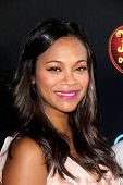 LOS ANGELES - OCT 12:  Zoe Saldana at the