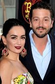 LOS ANGELES - OCT 12:  Ana de la Reguera, Diego Luna at the