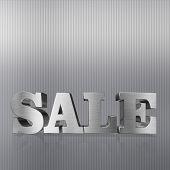 Sale, Metal Letters