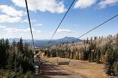 Ski Lift on top of Mount Humphreys
