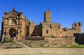 the castle of San Francisco Javier in Navarra