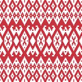 Ethnic textile ornamental seamless pattern.