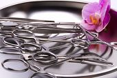 Metal Surgical Instruments Orchid