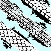 Abstract background tire prints,