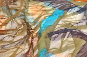 Abstract Multicolored Textile Background