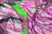 Wavy Chiffon Abstract Textured Background