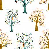 Cartoon forest