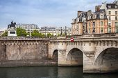 Pont Neuf. The Oldest Bridge Across The Seine River In Paris
