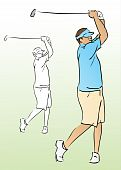 Vector Golf Swing.