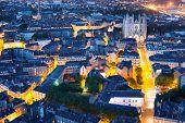 Nantes City At A Summer Night