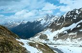 Summer Alps Mountain Landscape (austria).