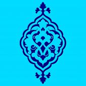 Artistic Ottoman Pattern Series Sixty Nine
