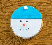 Cookies Snowman