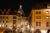 Munzgasse - Pedestrian Street In Dresden
