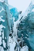 Solheimajokull glacier, Iceland.