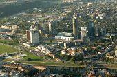 VILNIUS, LITHUANIA - 17 SEPTEMBER, 2014: Skyscrapers  of Vilnius, Lithuania