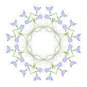 Circular Ornament Flowers
