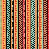 Vector Stripes Pattern. Tribal Texture, Colorful Ornament