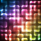 Abstract bright spectrum wallpaper. Vector illustration