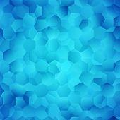 Abstract bright blue wallpaper. Vector illustration