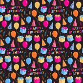 Happy Birthday pattern