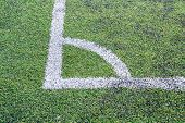 Corner Of Football
