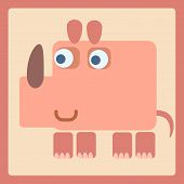 Rhino Stylized Cartoon Icon