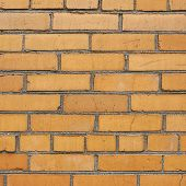 Red brick wall fragment composition