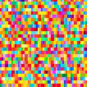 Colorful pattern with chaotic pixels