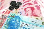 stock photo of trade  - Chinese Yuan vs Hong Kong Dollars  - JPG