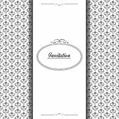 Vintage background, template antique greeting card, invitation, wedding card