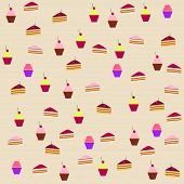Background Of Cakes