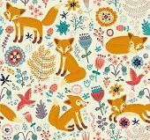Cute Foxy Pattern