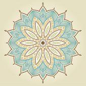 foto of henna tattoo  - Mandala - JPG