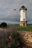 picture of lighthouse  - This image features the Fond du Lac Lighthouse in Wisconsin - JPG