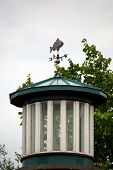 pic of lighthouse  - This image features the Asylum Point Lighthouse located on Lake Winnebago Wisconsin U - JPG