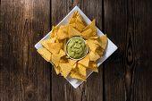 picture of nachos  - Portion of Nachos  - JPG