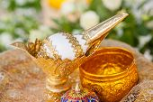 stock photo of cultural artifacts  - Thai wedding object  - JPG