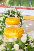 picture of cultural artifacts  - Thai wedding object  - JPG
