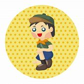 pic of boy scout  - Scout Theme Elements - JPG