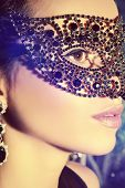 foto of masquerade  - Close - JPG