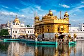 picture of harmandir sahib  - Famous indian landmark  - JPG