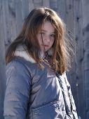 Adorable Snow Girl