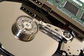 Internals of a hard drive