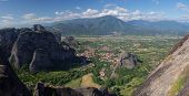 Meteora Thessalia central  Greece